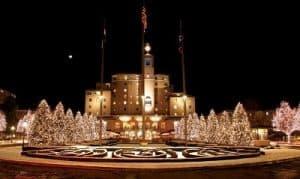 World Famous Broadmoor Hotel In Colorado Springs, Colorado